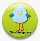 "My Card Featured on the 1st ""Bird Spotting"" on the 3Birds Blog!!  Woo hoo!!"