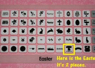 Cricut Easter Cartridge Overlay & Easter Basket Info