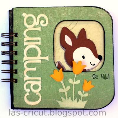 "Featured Designer – Bind It All ""Go Wild"" Book Using Lots of Pun Stamp Set"