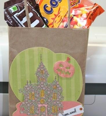Cricut Imagine Halloween Treat Bag Happy Hauntings, Best Friends & Nursery Rhymes