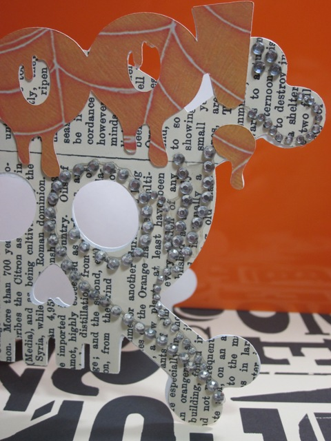 Skull Card Using Gypsy Life Is A Beach Amp Martha Stewart
