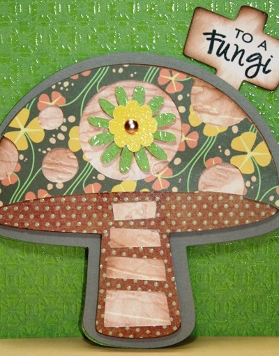 Cricut Mushroom Birthday Card