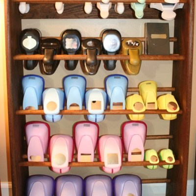 Shoe Rack Craft Punch Storage