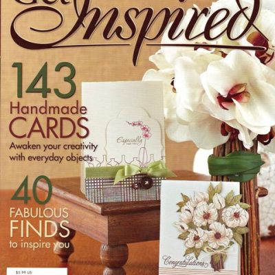 Joy's Life Barnyard Puns Stamps in Special Paper Crafts Magazine