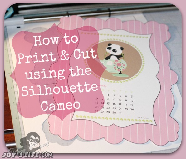 Silhouette cameo print and cut projects to do at home.