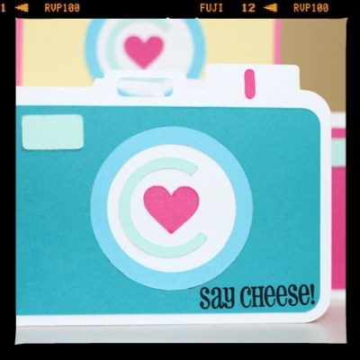 Fun Camera Shaped Card