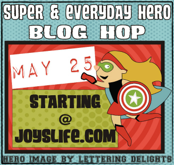 Super & Everyday Hero Blog Hop – Wonder Woman Iron On Bag