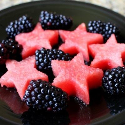 Cascade Platinum Shows Off My Festive Watermelon Stars