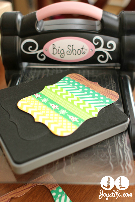 Big Shot Washi Top Note