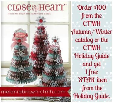 melanie brown ctmh holiday image