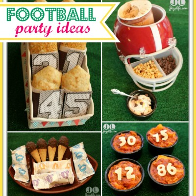 Don't Miss a Minute of the Big Game with These Football Party Ideas #GameTimeGoodies