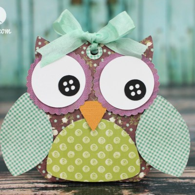Owl Treat Box with Silhouette Cameo and SEI
