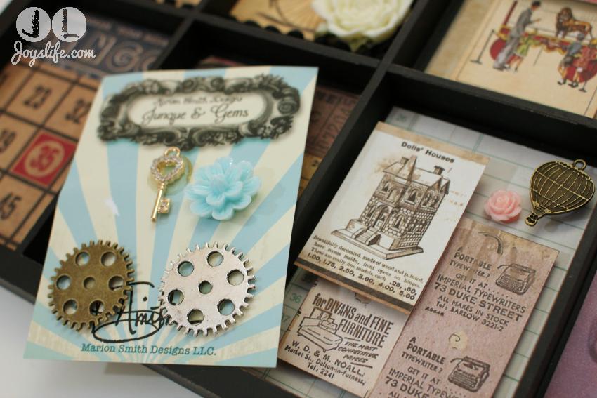 Typesetter Tray Memory Frame #MemoryFrame #GlueDots #Typesetter #crafts