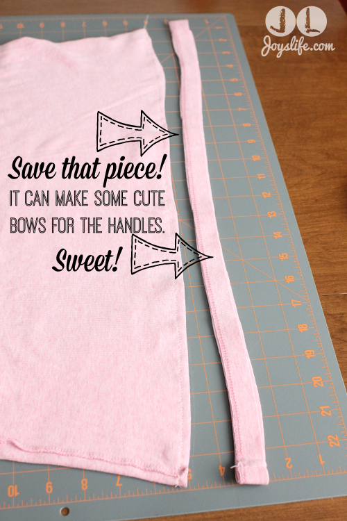 Make a T-Shirt Bag #Upcycle #tshirt #diy