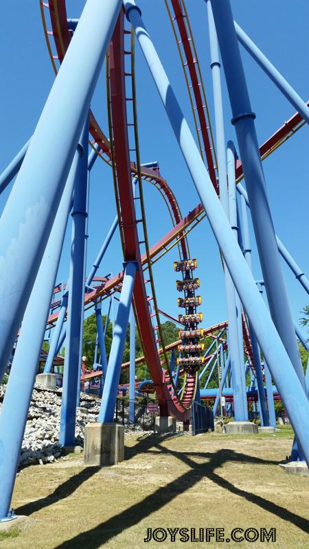 Joy's Life.com #joyslife #rollercoaster #superman #sixflags