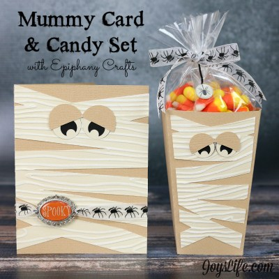 Mummy Card & Candy Set with Epiphany Crafts