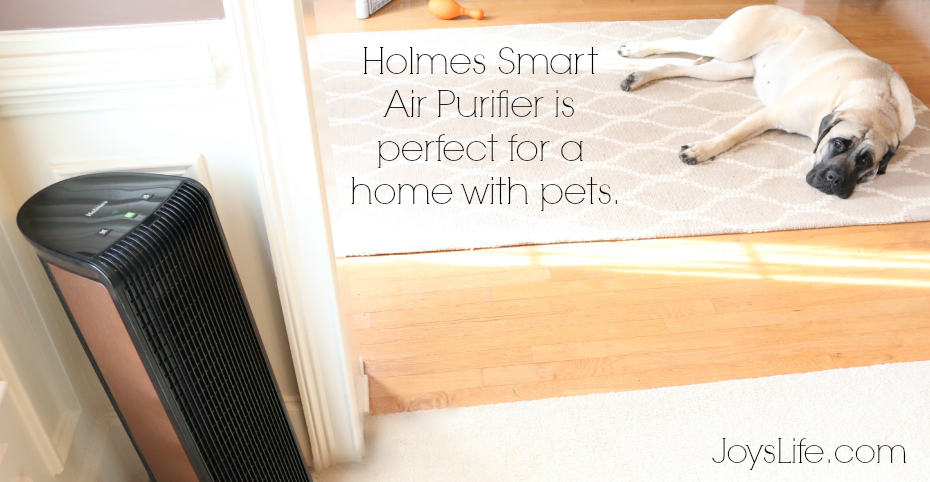 You can improve your air from anywhere with Holmes Smart Air Purifier using your smart device! #Giveaway #Holmes #ad #smarthome #airpurifier