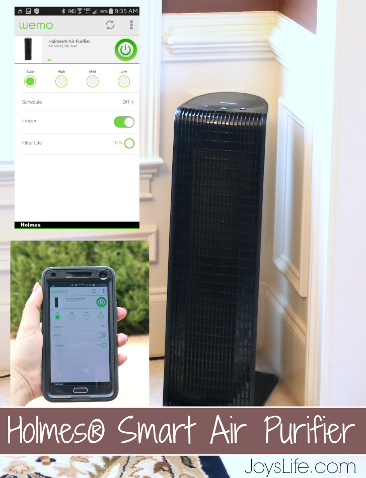 A Breath of Smart, Fresh Air - Holmes Smart Air Purifier Update #Holmes #SmartAir #AirPurifier #WeMo