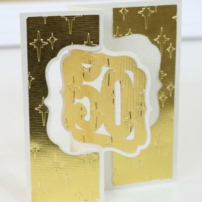 50th Anniversary Card Idea