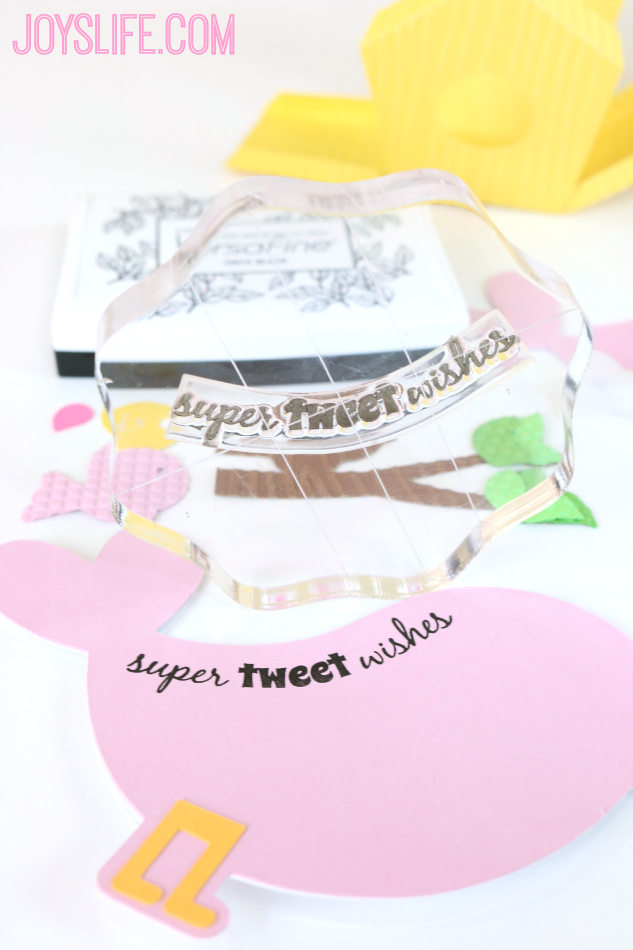 Spring Birdhouse Decor and Tweet Bird Card #SilhouetteCameo #CutnBoss #craftwell #loriwhitlock #JoysLifeStamps #birdhouse
