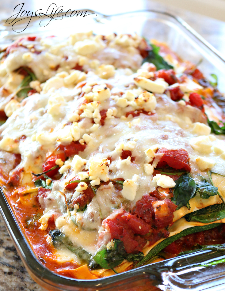 Marathoner's Zucchini Ribbon Lasagna #AllWhitesEggWhites #recipe #lasagna
