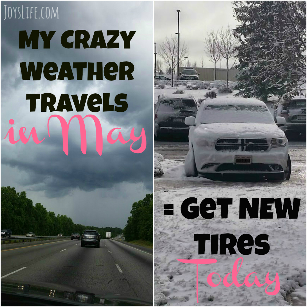 My Crazy Weather Travels in May = Get Good Tires #DareToCompare #ad #travel #vacation