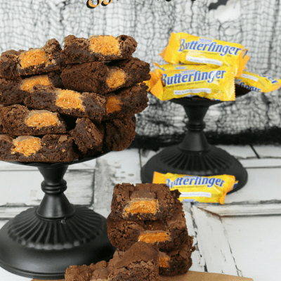Delicious Butterfinger Brownies Recipe