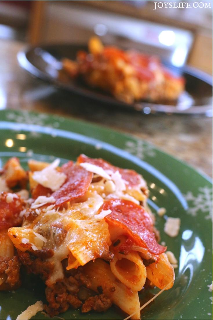 Gluten Free Pepperoni Pizza Casserole Ingredients