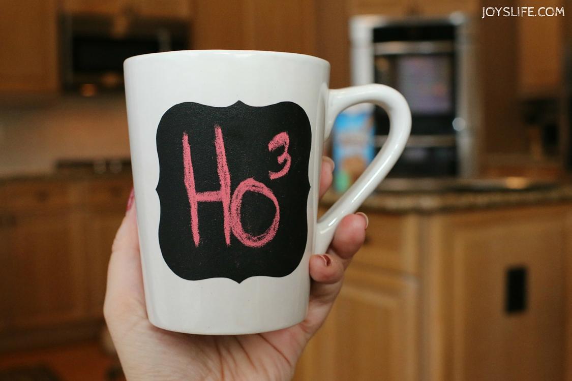 Chalkboard Vinyl Coffee Mug