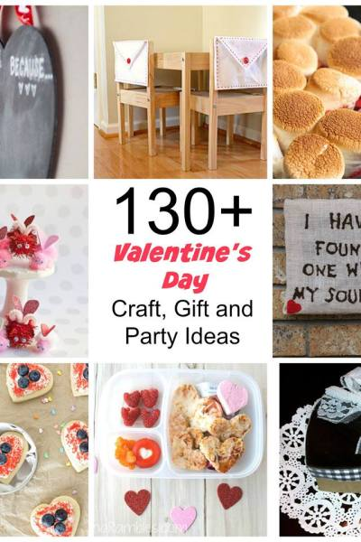 Great Valentine's Day round-up full of creative ideas!