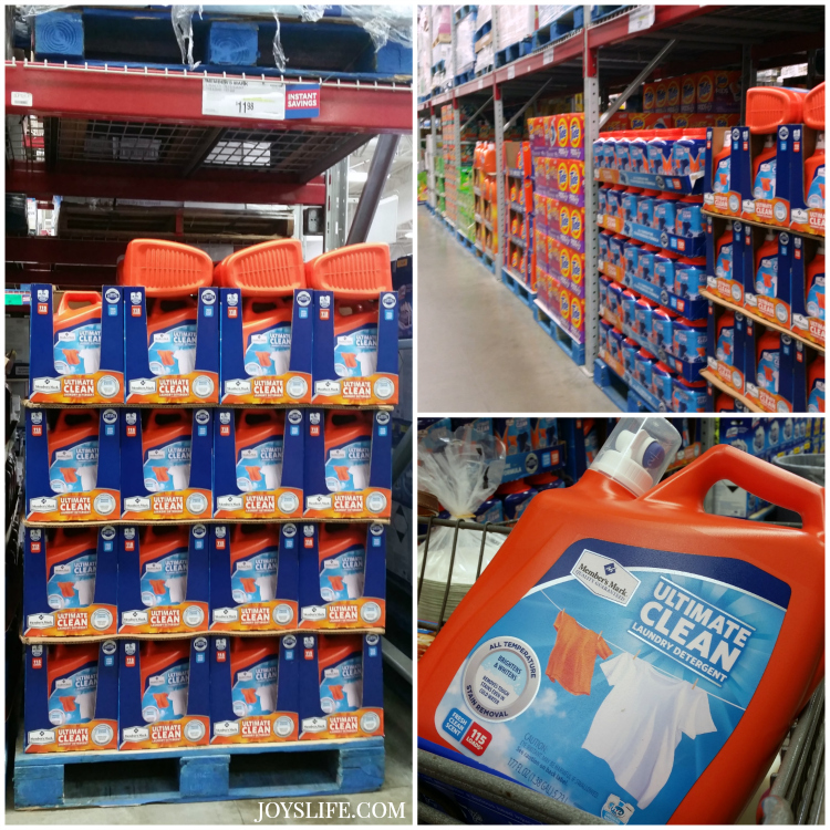 Member's Mark Ultimate Clean Laundry Detergent in Fresh Scent at Sams Club