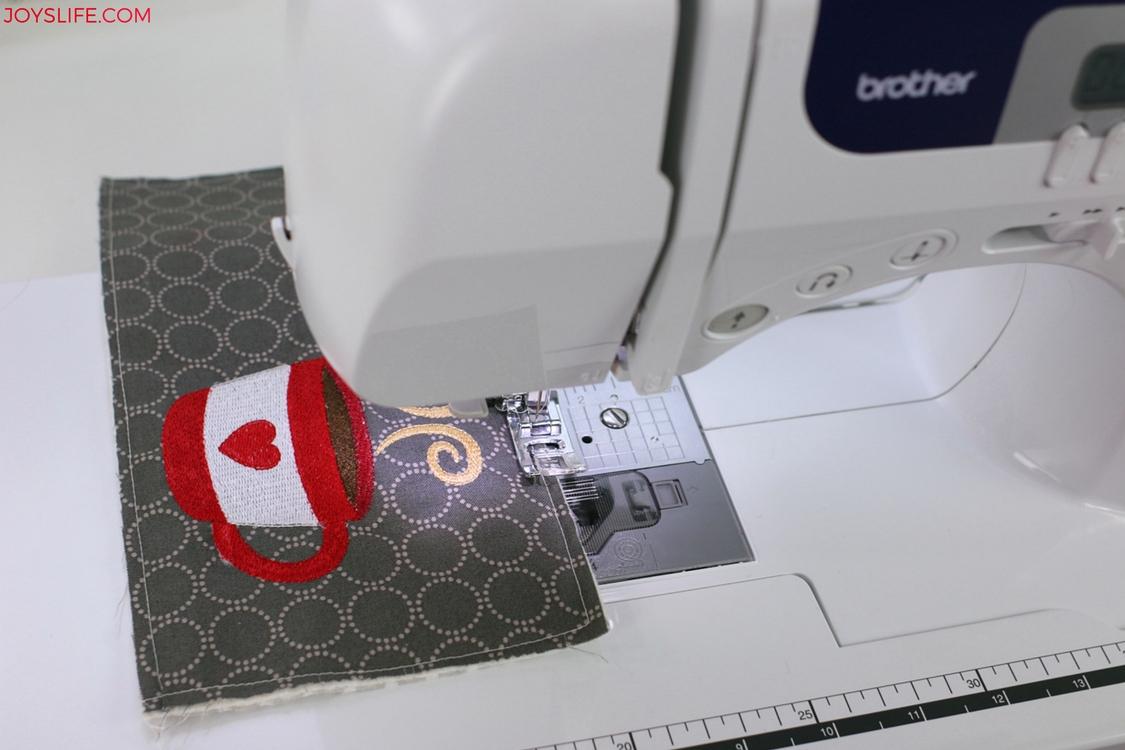 sew quarter inch rug