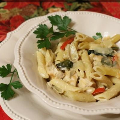 Chicken Spinach Artichoke Casserole Recipe