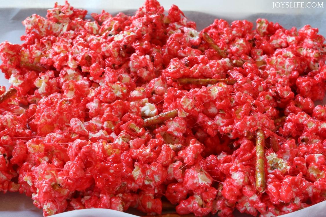 red popcorn