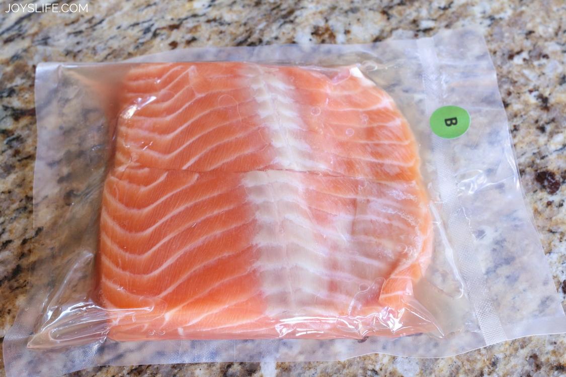 salmon dinner thyme