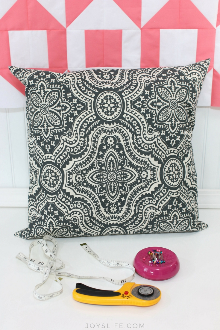 How to make a pillowcase for a throw pillow
