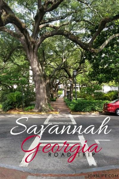 Savannah Georgia Road Trip