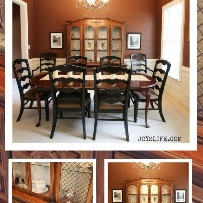 China Cabinet Makeover – Part One