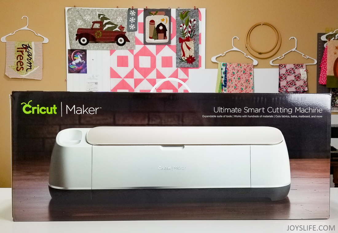 Cricut Maker Box front sewing room