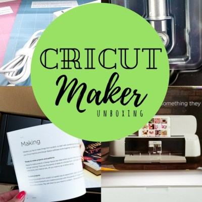Cricut Maker Unboxing