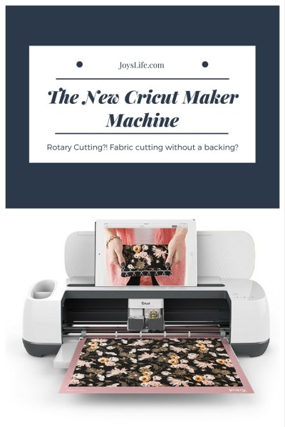 Let's talk about The New Cricut Maker Machine