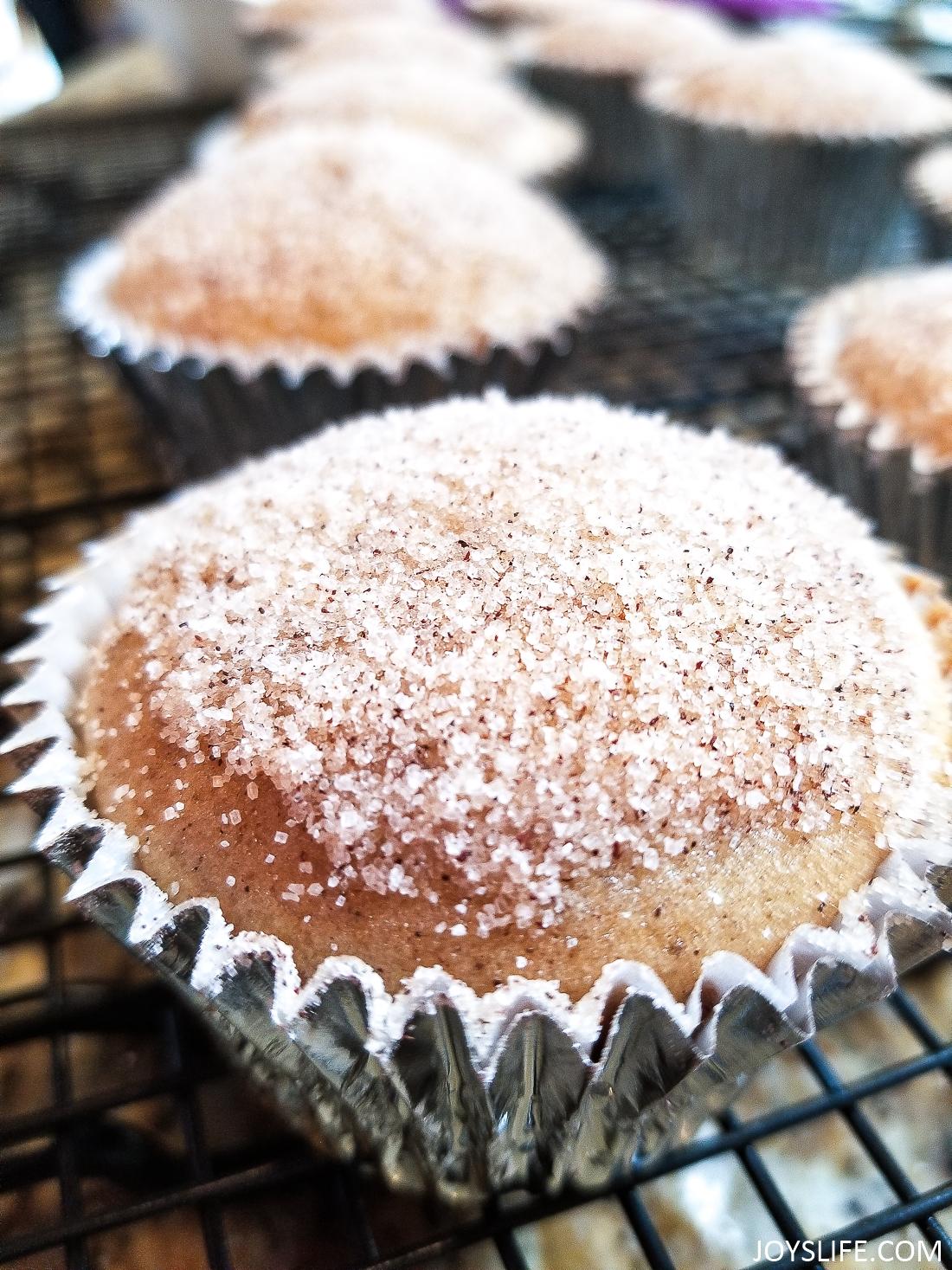 spiced cider muffins recipe