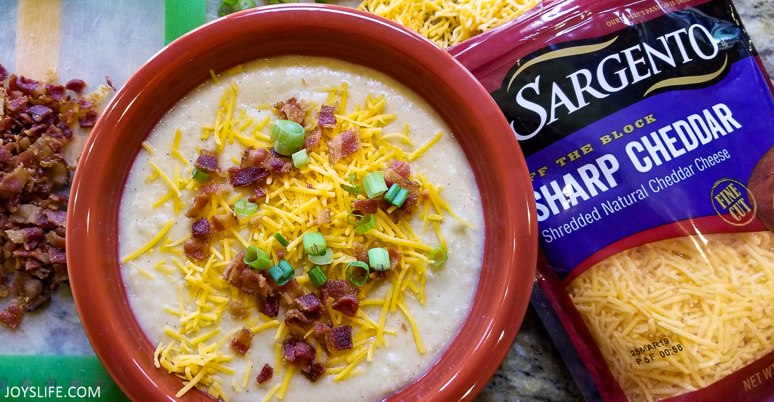 cheesy potato soup sargento
