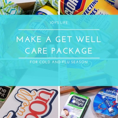 How to Make a Get Well Care Package for Cold and Flu Season