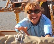 MARY ANNA ON VOYAGING CANOE NOW ON WORLDWIDE VOYAGE