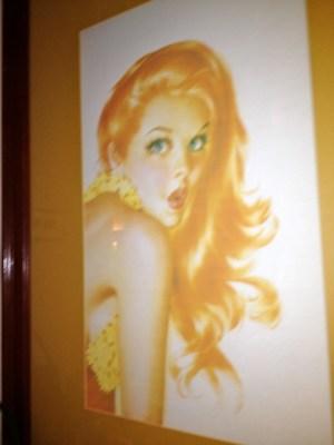 Poster Girl, Hula Grill Men's Room