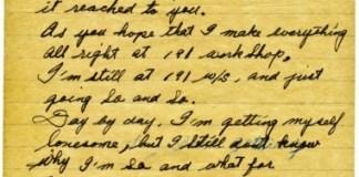 1952년 한국-캐나다 편지1