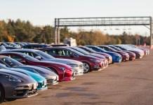 올해의차 선정 시승식장에 나온 차량들. 사진=AJAC