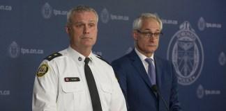 토론토 시경, 차량돌진 사건