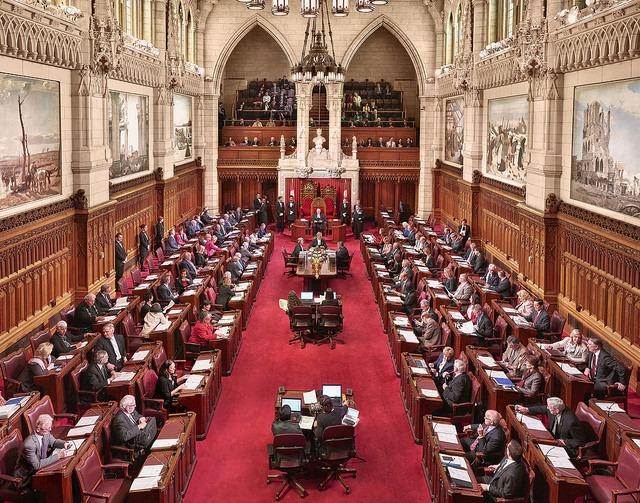 캐나다 상원. 사진=캐나다 의회
